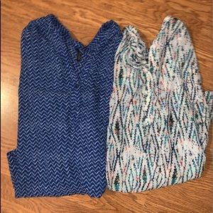 2 Maurices Perfect shirts